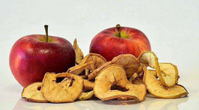 szárított alma