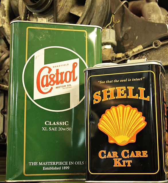 castrol / shell olejok
